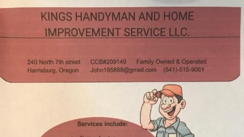 Kings Handyman services LLC